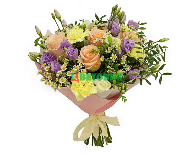 Цветы букеты с доставкой свао как сделать живые цветы орхидеи в тубусе